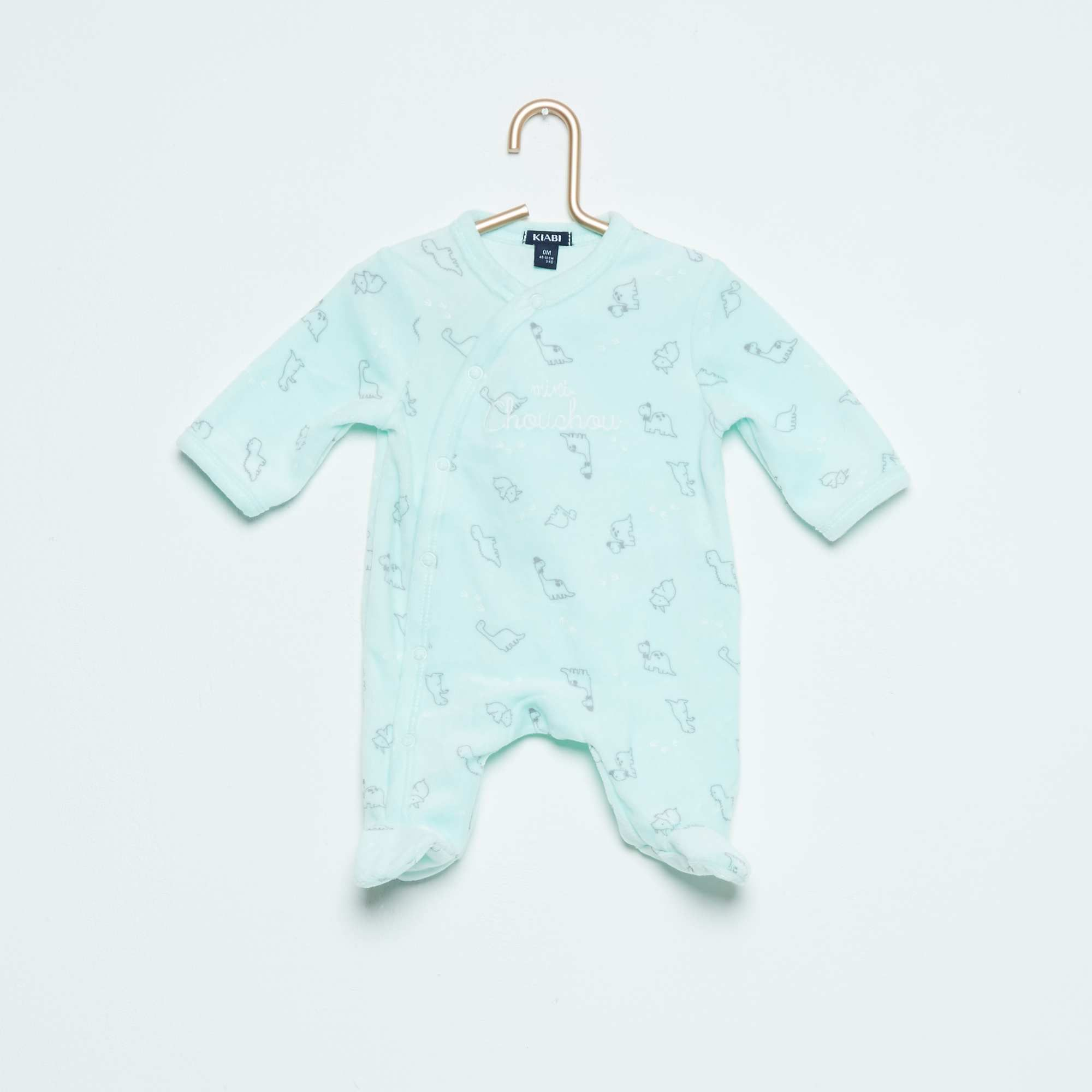 19d4c2fab3756 Pyjama en velours imprimé  mouton  Bébé garçon - Kiabi - 10