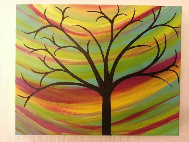 Explore Easy Acrylic Paintings Tree And More