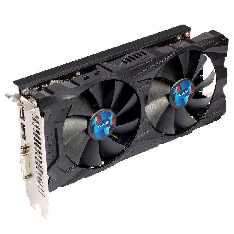 Limited Offer Of Yeston Radeon Rx560d 4gb Gddr5 Pci Express 3 0 Directx12 Video Gaming Graphics Card External Graphic Graphic Card Video Graphics Black And Red