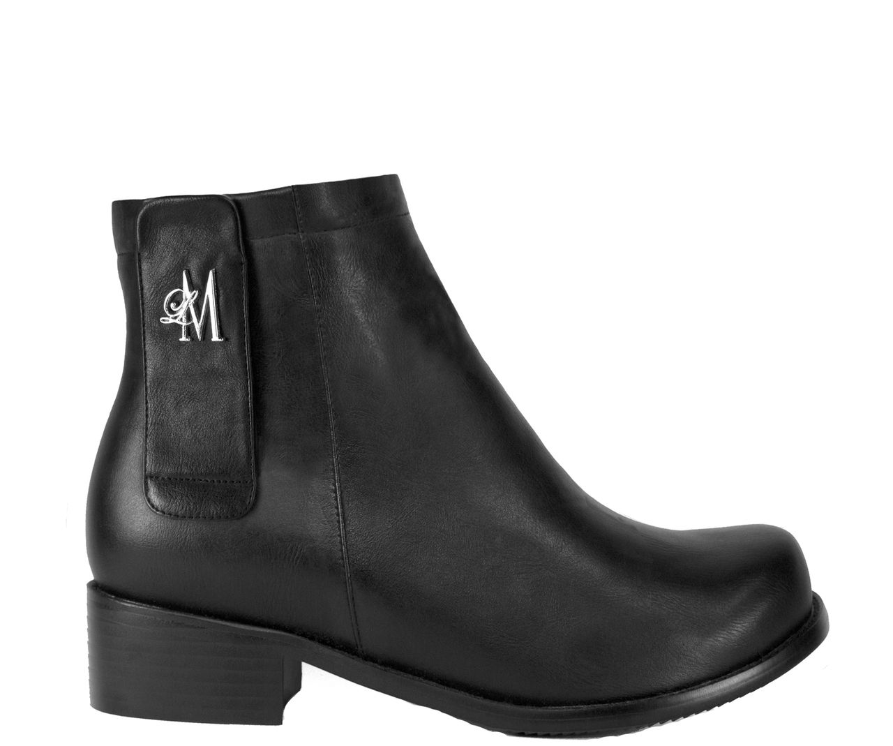 Llynda More Boots - 'More Luck' Black Ankle Boot, $99.00 (http://store.llyndamoreboots.com/more-luck-black-ankle-boot/)