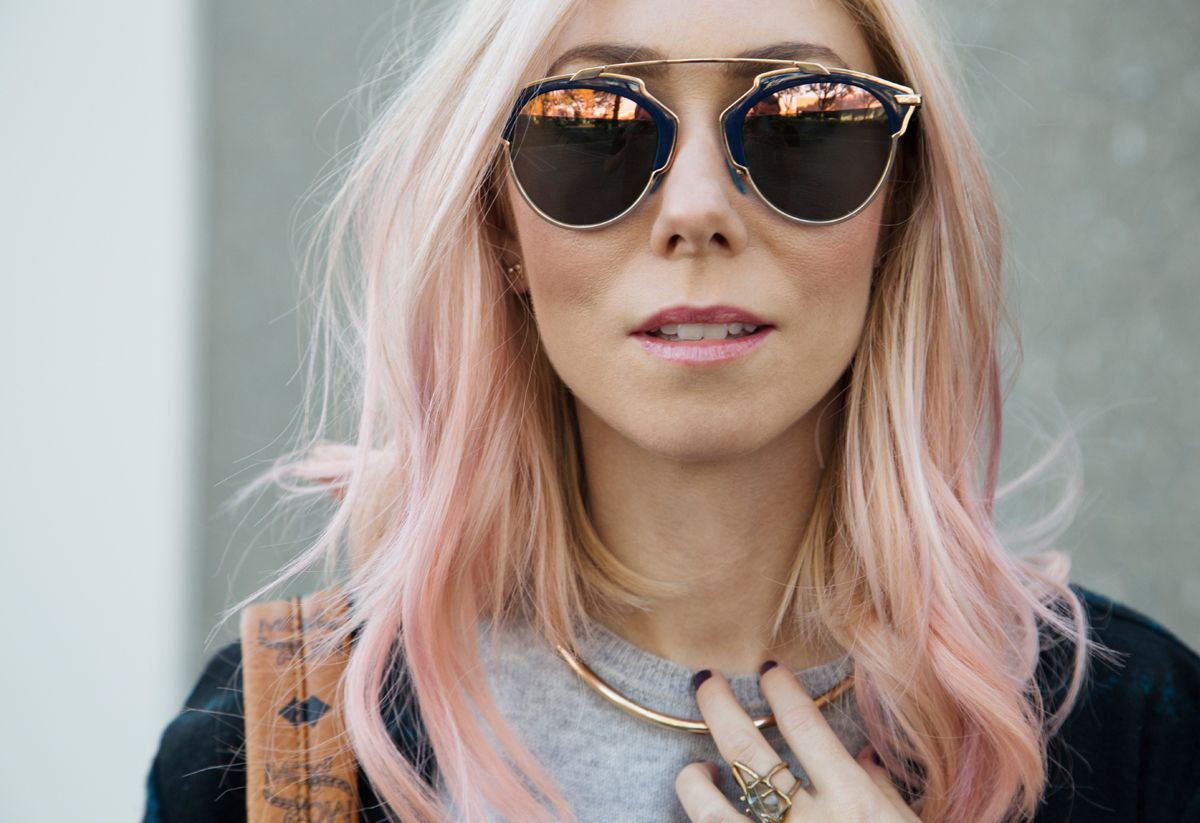 9c75ad62f dior so real in rose gold | My Style | Black round sunglasses ...