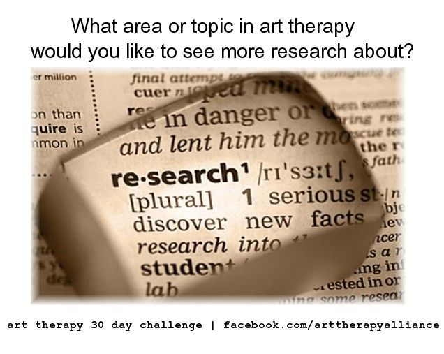 art therapy research paper