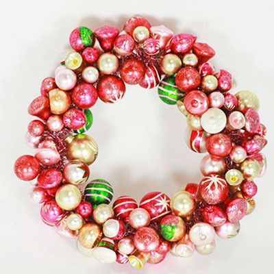 Glass Ball Wreath (last one!)