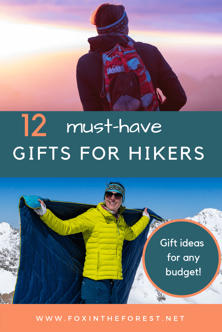 82eab513343 Perfect gifts for women and men who hike. What to get a hiker for the  holidays. Hiking gifts.  gift  hiking  holidays  giftguide  outdoors