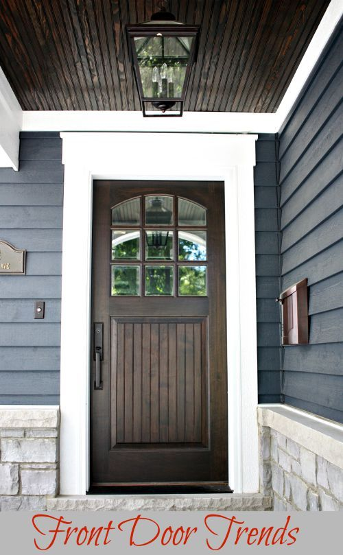 Front Door Trends Front Doors Curb Appeal And Doors - Front door styles