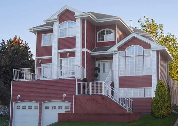 Modern Home Exterior Siding colorful vinyl siding improving curb appeal of modern houses with