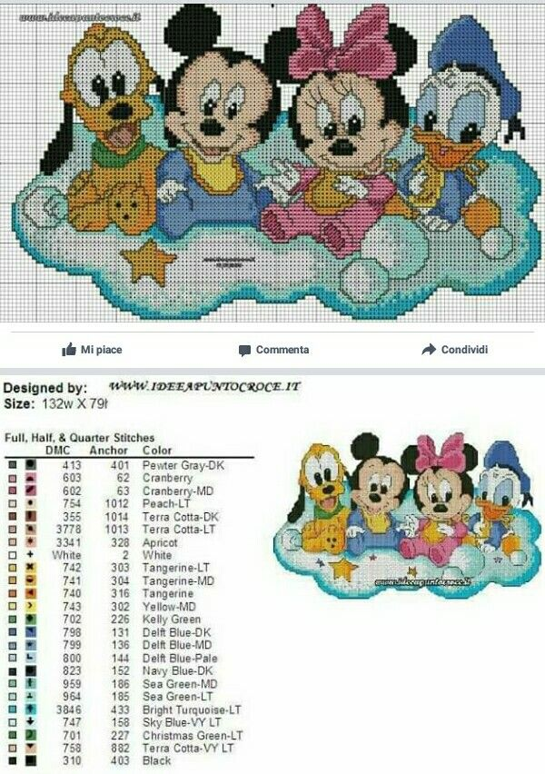 Pin de Milagros Menna en DISNEY | Pinterest | Cross stitch patterns ...