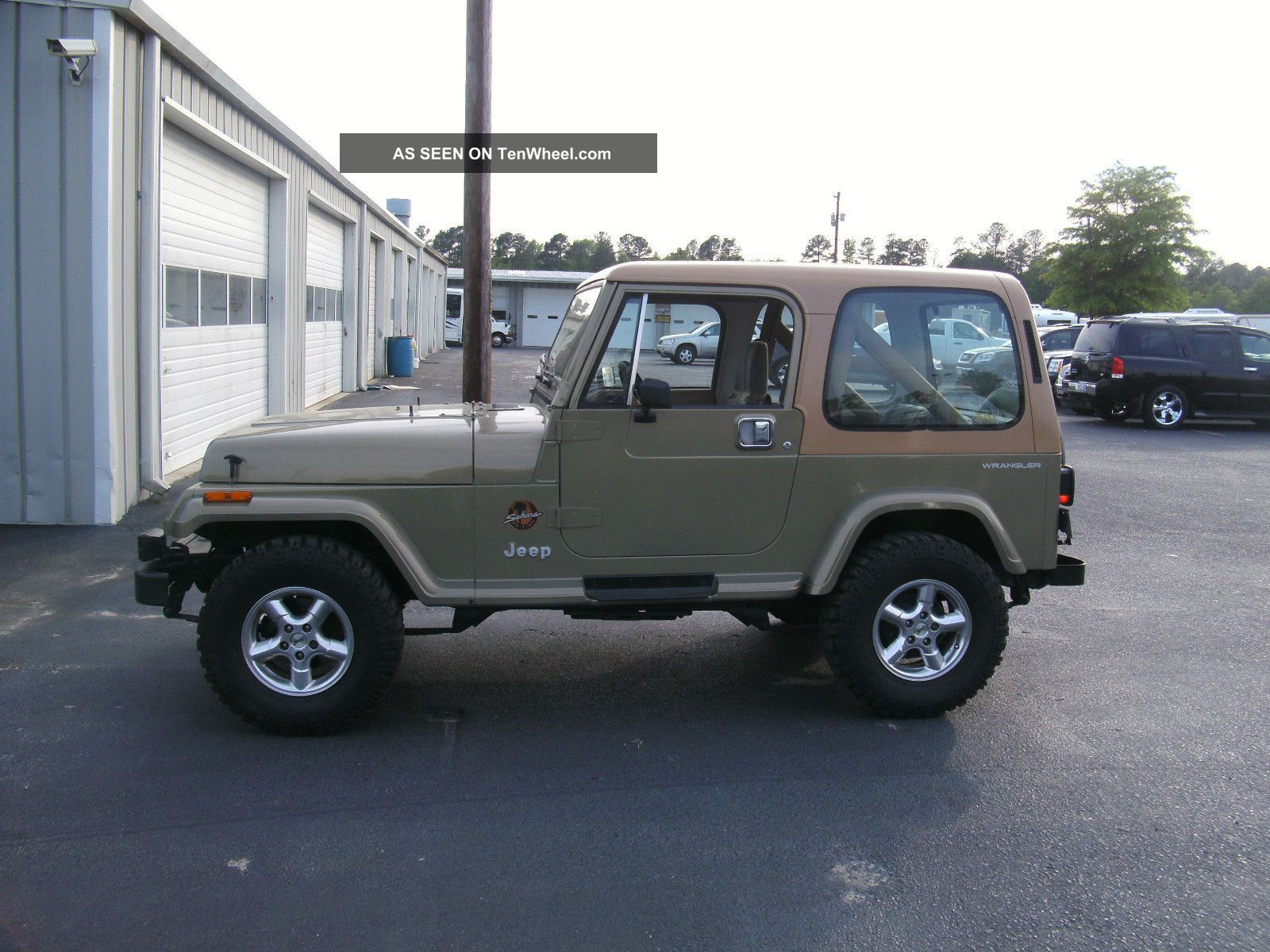 1988 jeep wrangler hard top full hard doors polished wheels photos and info tenwheel