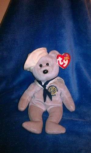 89b95363db2 TY Beanie Baby - RONNIE the Sailor Bear (USA Exclusive ...