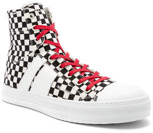 4b393cde56b7 Amiri Sunset Canvas Check Sneakers | Products | Mens canvas shoes ...