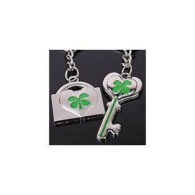 IRISH SHAMROCK FLAG Keyring keychain USD $2.99