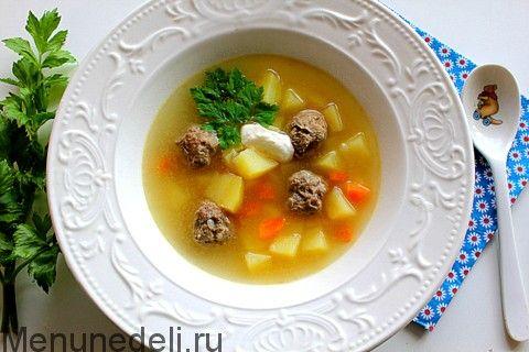 Свекольный суп как в саду