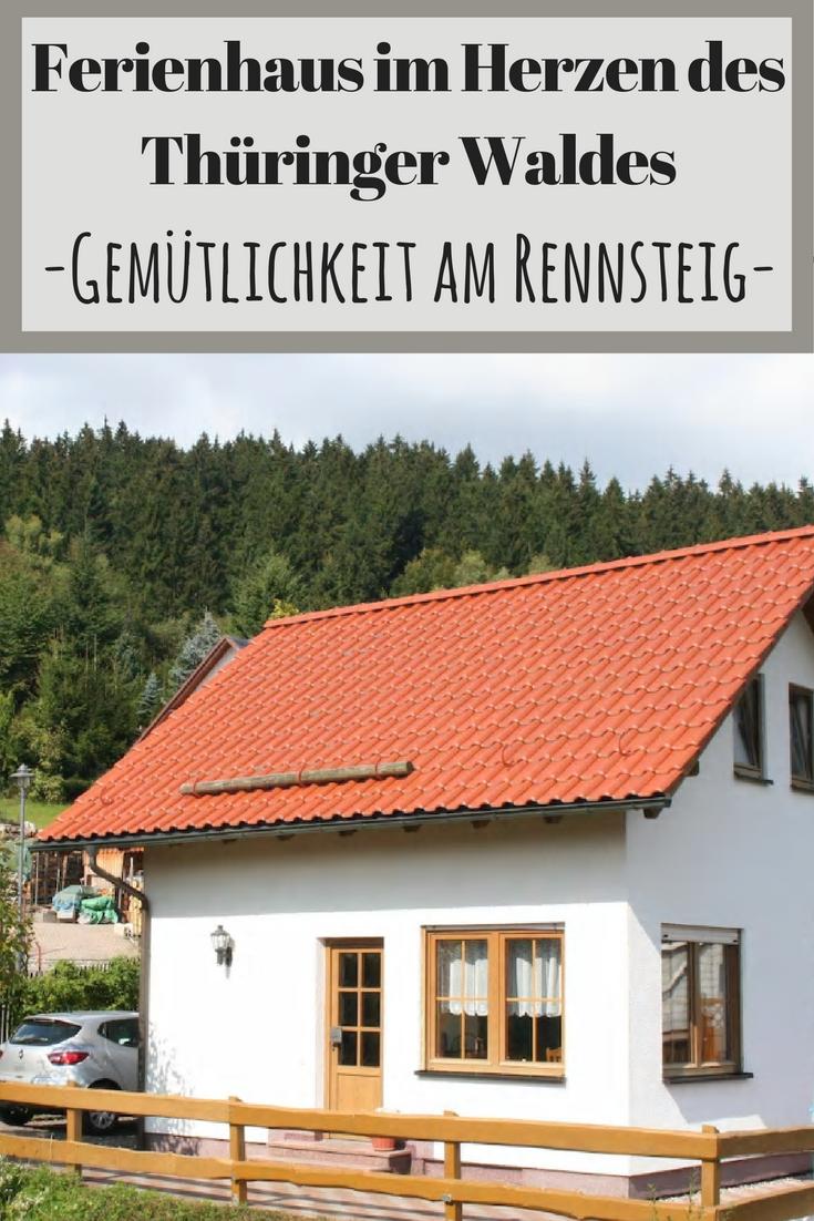 Gemütliches Ferienhaus im Herzen des Thüringer Waldes. Der