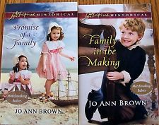 LOVE INSPIRED HISTORICAL SERIES-2 Book Set-By-Jo Ann Brown