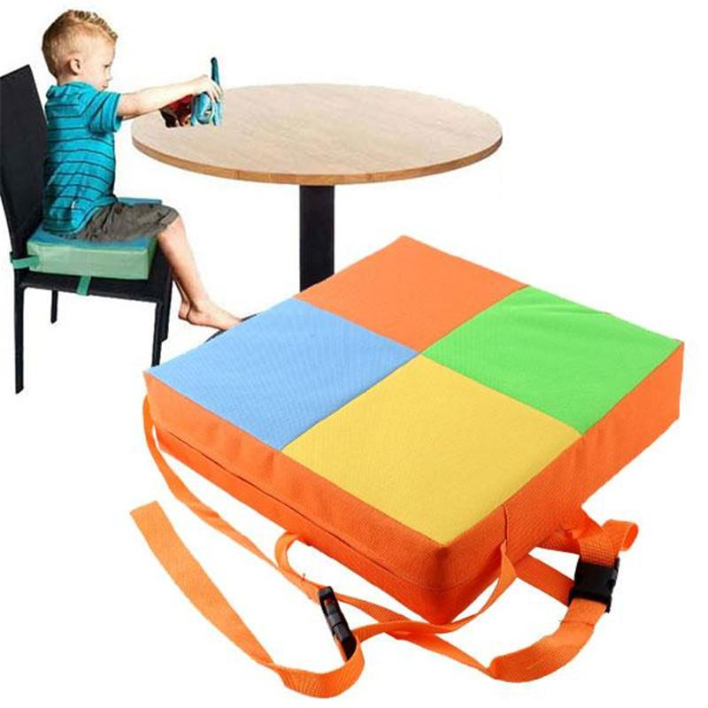 Useful Baby Kids Chair Booster Cushion Highchair Child Increase Height Seat Pad Mat High Chair Cushions High Quality Highchair Cover Kids Chairs Seat Pads