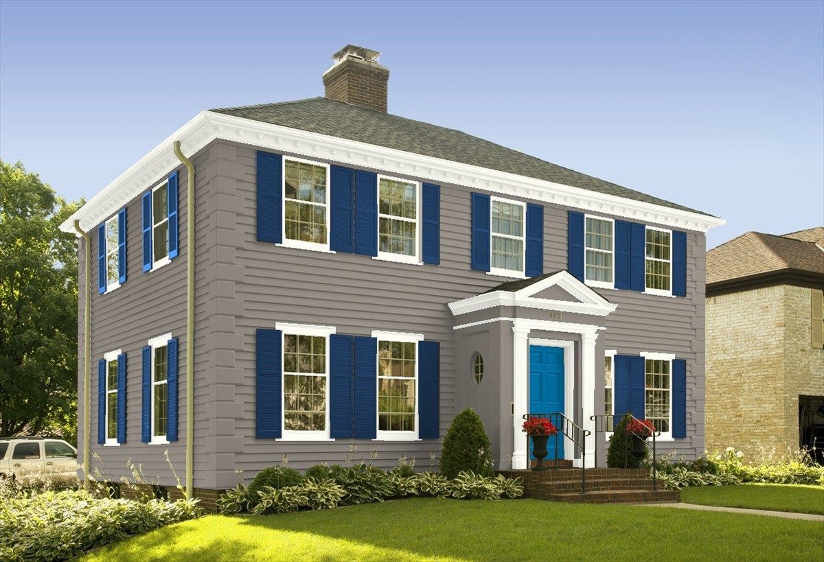 Design Your Own Room Virtual Paint Your Room App Personal Color Viewer Exterior Color Palette House Exterior Colonial House Exteriors