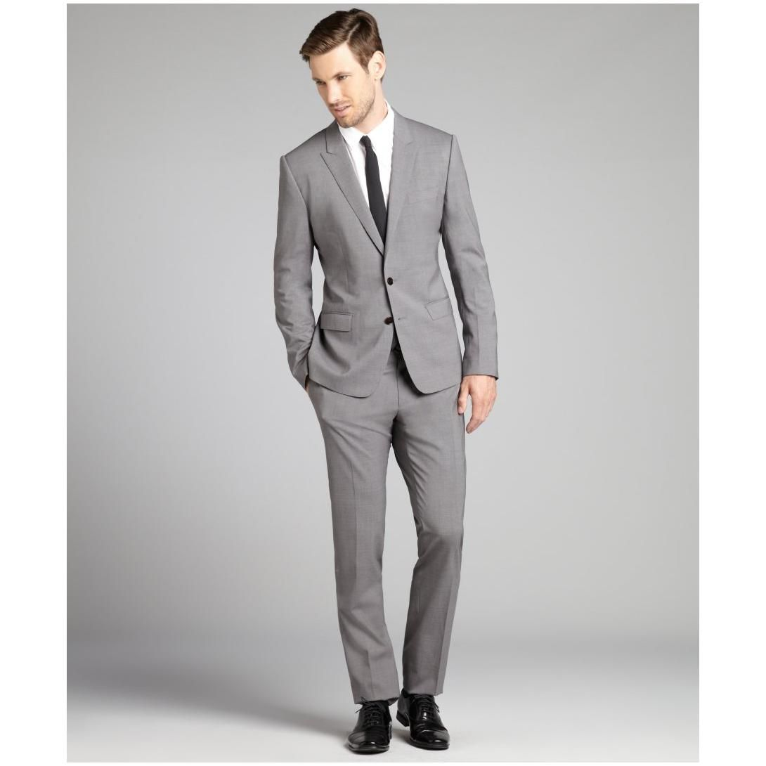 1000  images about Men's Essentials: The Gray Notch Lapel Suit on