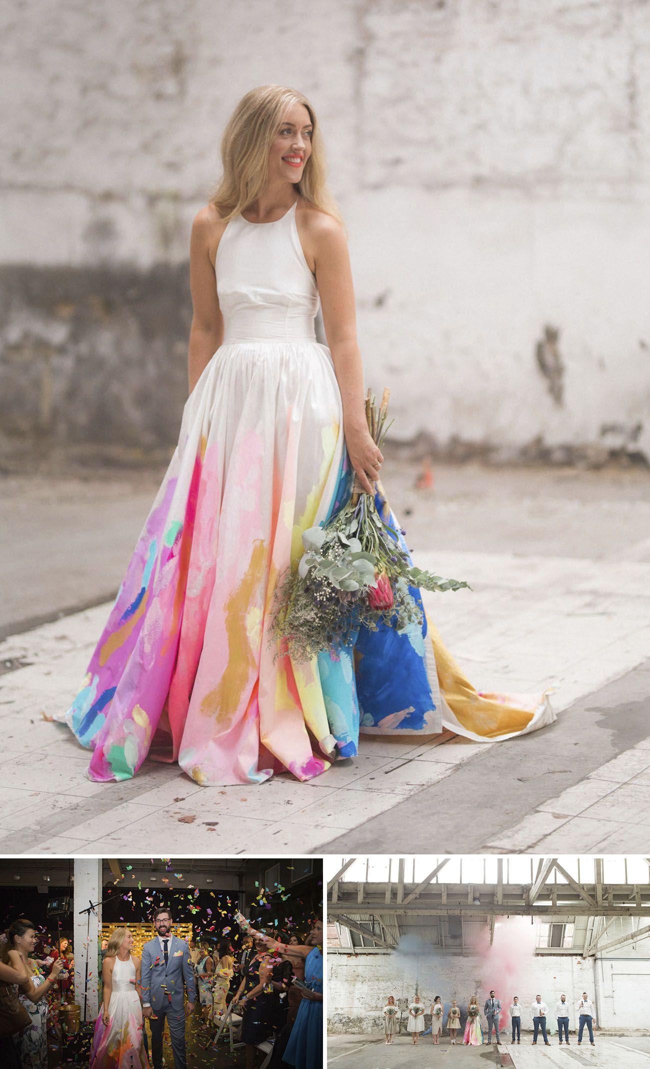 13++ Tie dye wedding gown information