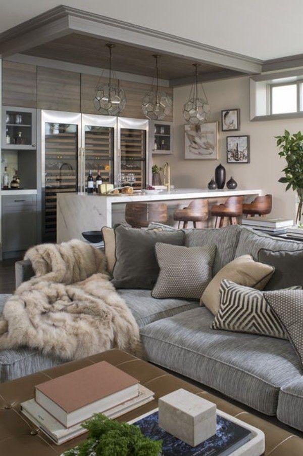 Traditionelles Wohnzimmer Wohntrends