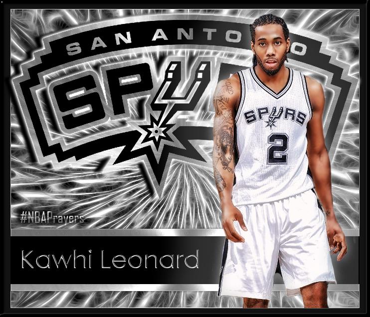 promo code a932c fd57d NBA player edit - Kawhi Leonard
