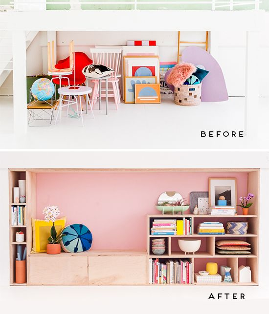 DIY Modern Seating and Storage with Maple Plywood | Maple plywood ...