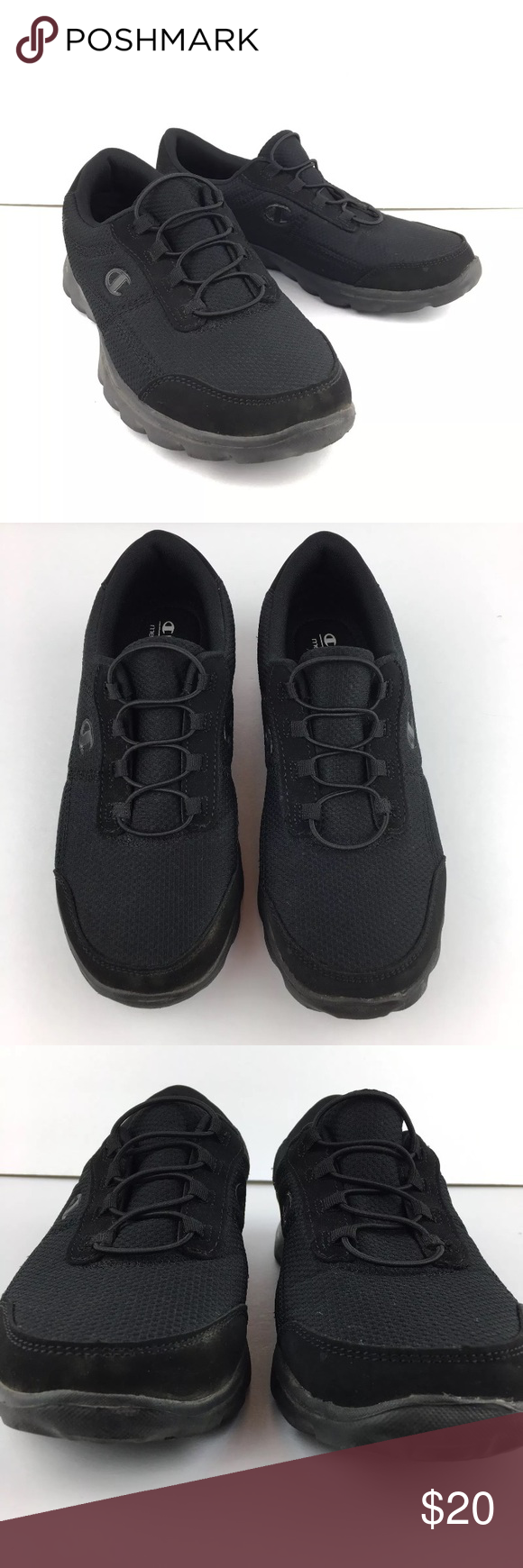 72fa33101c1 Champion Memory Foam Slip On Shoes Black Size 9W Listing includes 1 Pair of Champion  Memory