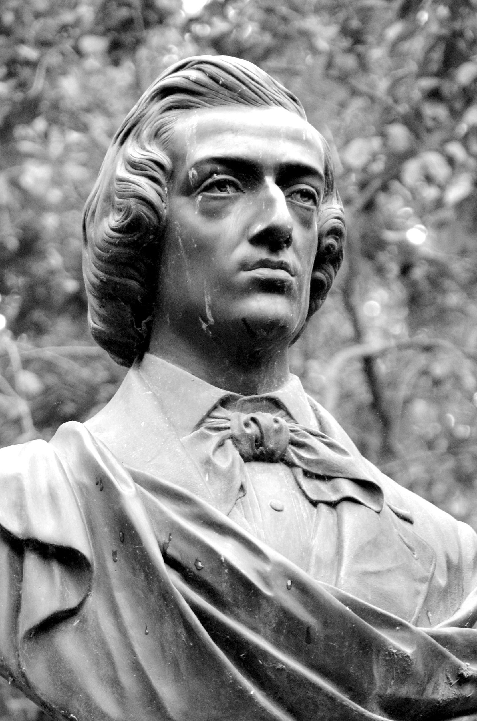 6368be4ffe7d4af0a8d5b3971c809510 - The Monument To Chopin In The Luxembourg Gardens