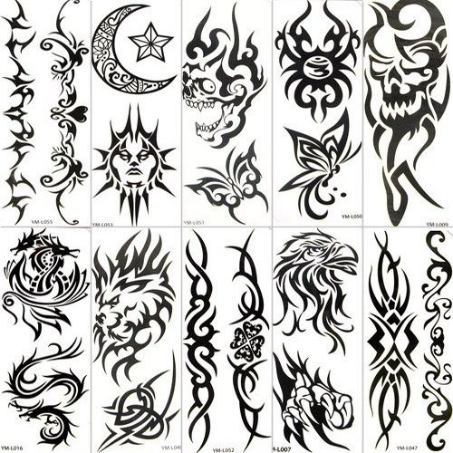 Pin By Tattooeve On Right Temporary Tattoo Paper Temporary Tattoo Paper Tattoo Paper Tribal Tattoos