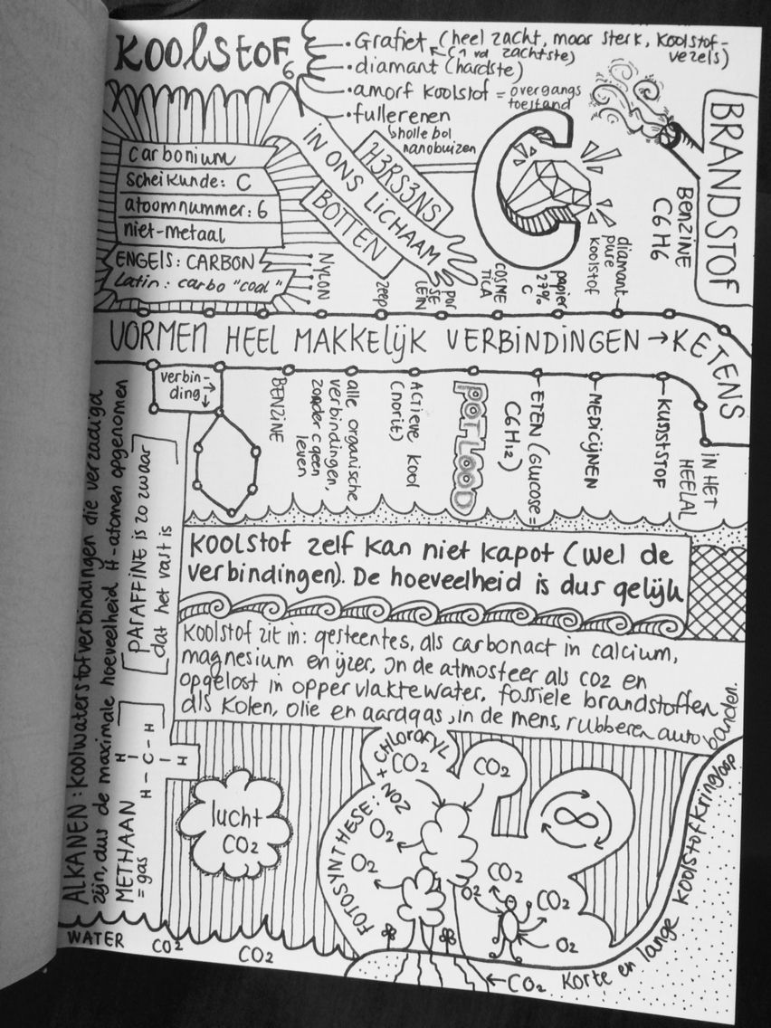 Doodle Book Koolstof Carbon My Doodles Drawings