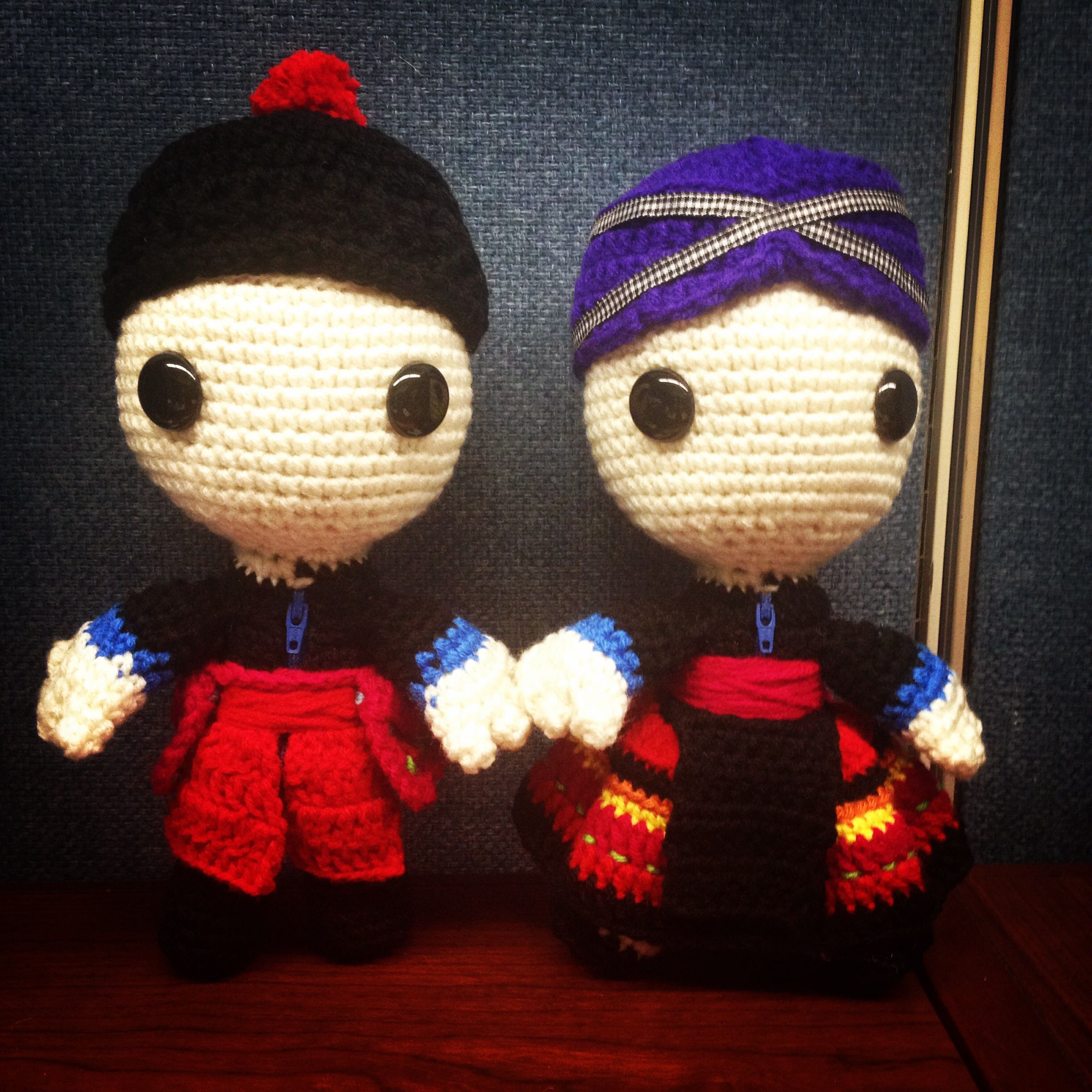 Hmong Crochet Little Big Planet Sackboy Amigurumi | Crochet Love ...
