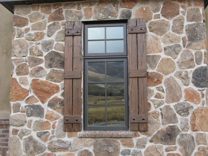 Rustic Shutters - Custom Exterior Designs | Home and garden ...
