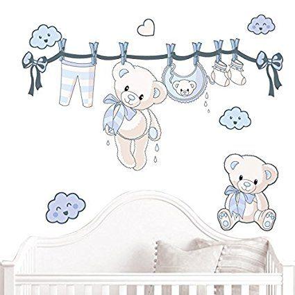 Juju Compagnie Jujubox Blue Teddy Bears Full Set Of