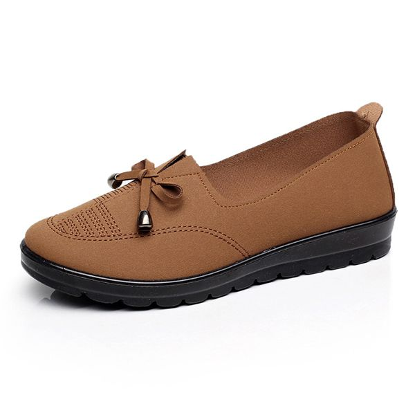 Sale 21 21 35 Us Size 5 11 Women Flat Casual Outdoor Slip On Comfortable Loafers Shoes Comfortable Loafers Casual Shoes Women Womens Flats