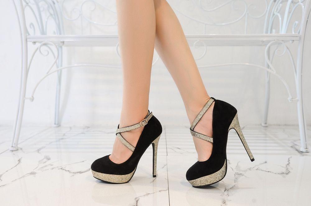 cdaab508094 Mila Lady (ELVA26) Women Fashion Embellished Sparkles Party Pumps High Heel   MilaLady
