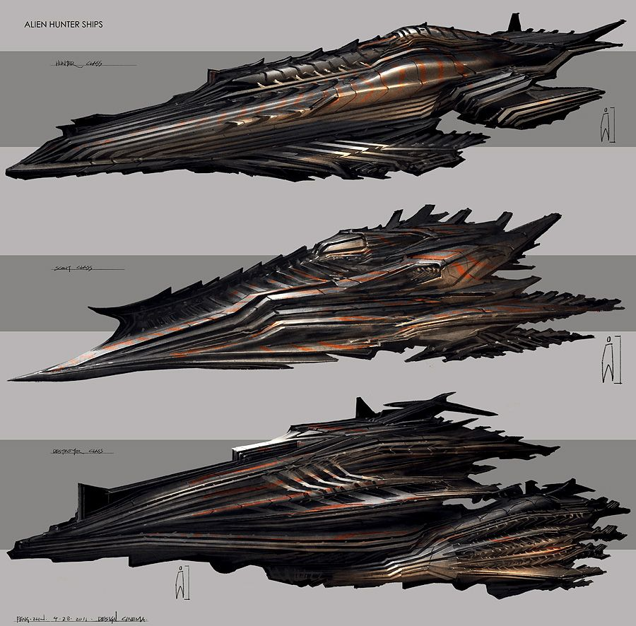 Feng Zhu Design: VEHICLES / PROPS