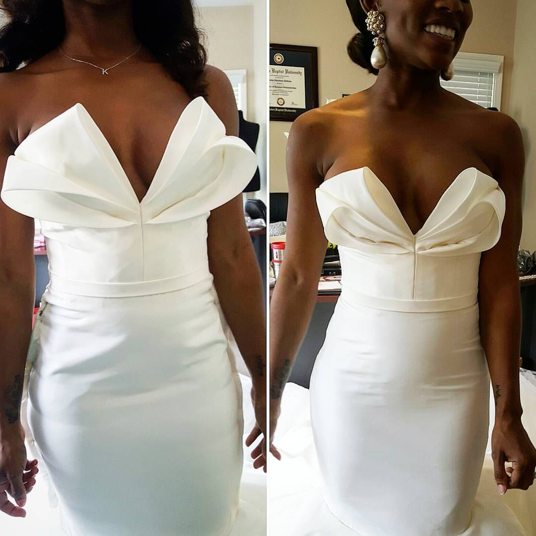 likes comments luxury wedding gown designer