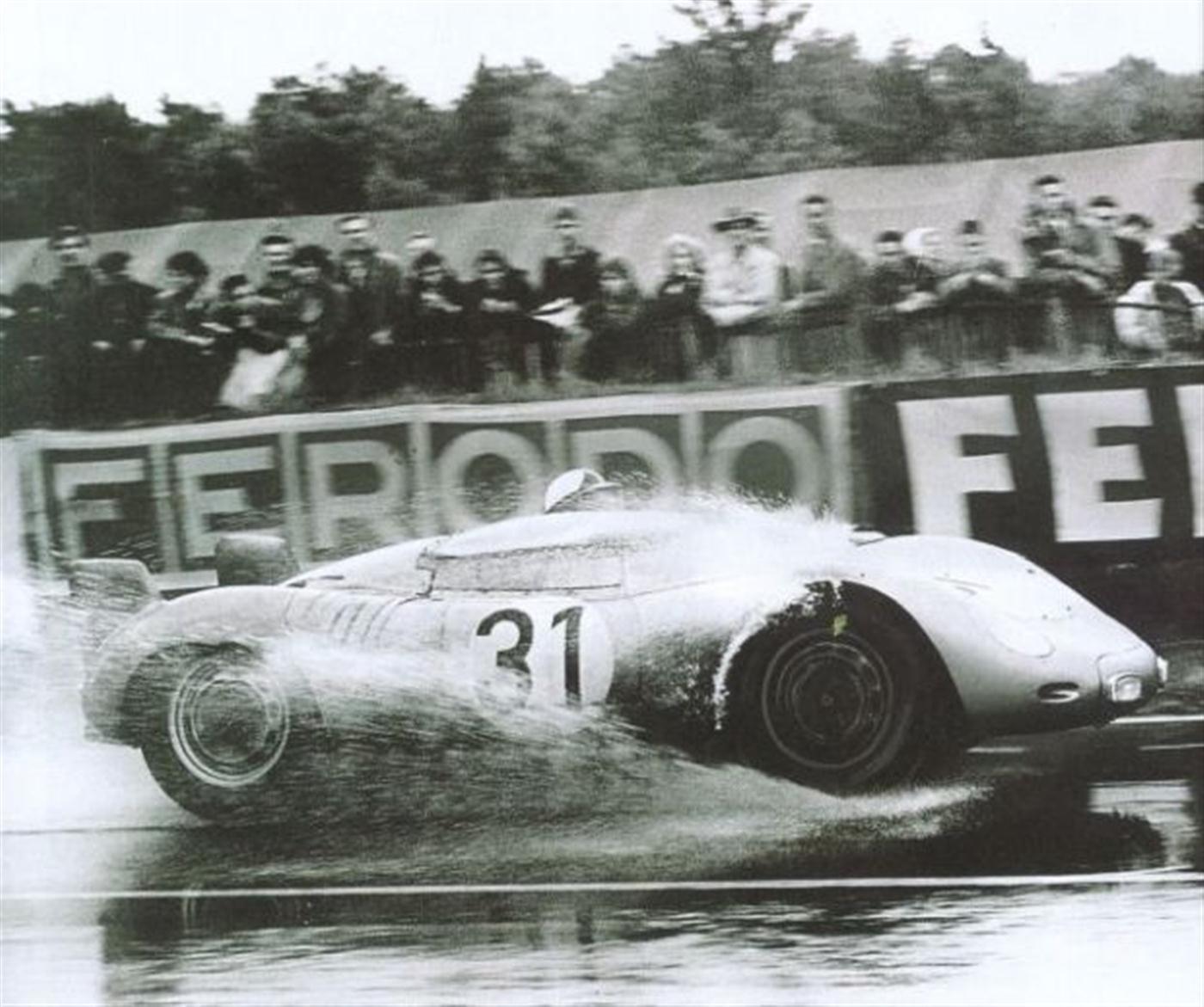Porsche 718 în 1958 la Le Mans