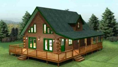 Cumberland Log Home   Cedar Knoll Log Homes: Log Homes, Cabins And Camp  Plans
