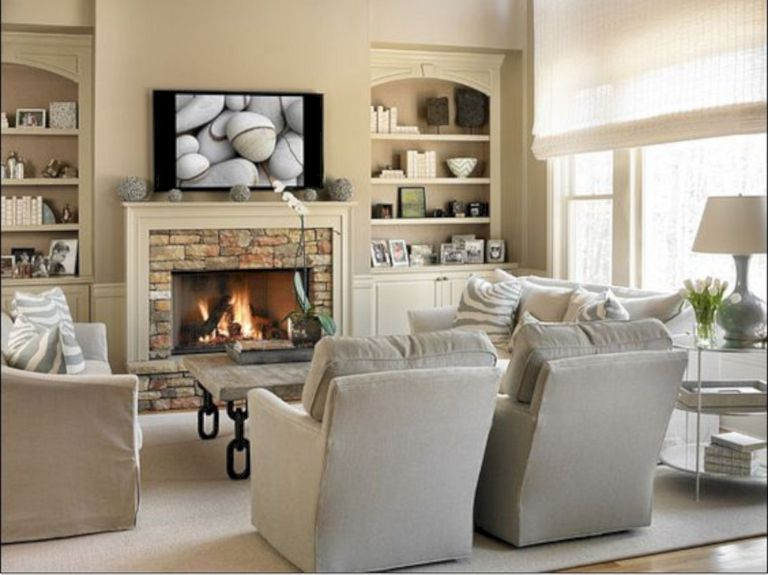 15 Living Room Furniture Layout Ideas With Fireplace To Inspire You Family Room Furniture Layout Living Room Furniture Layout Livingroom Layout