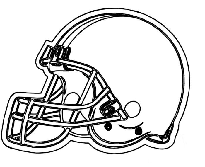 Helmet Browns Cleveland Coloring Pages Football Coloring Pages Kidsdrawing Free Coloring Pag Football Coloring Pages Coloring Pages Sports Coloring Pages