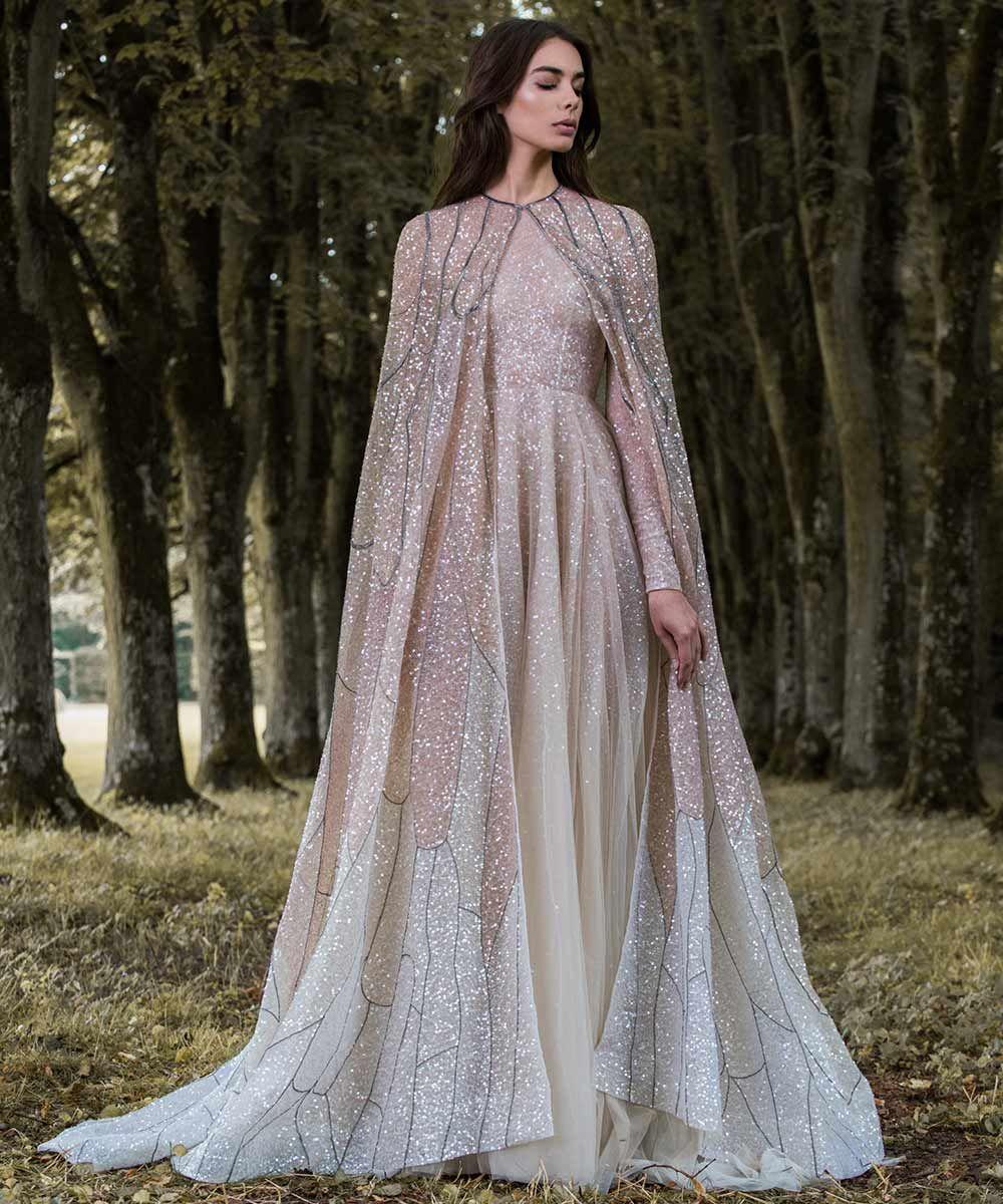 Beautiful Gold Wedding Dresses: 17 Glitzy Gold Wedding Dresses