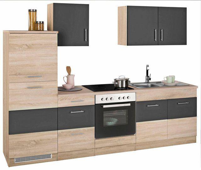 Küchenzeile »Perth«, ohne EGeräte, Breite 270 cm Küchen