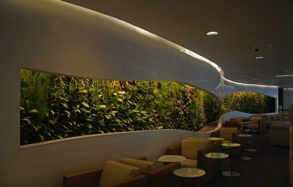 vertikale begrünung innen außen haus öffentliche bereiche | Garten ...