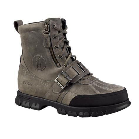 Shop For Mens Andres Boot By Polo Ralph Lauren In Grey At Journeys