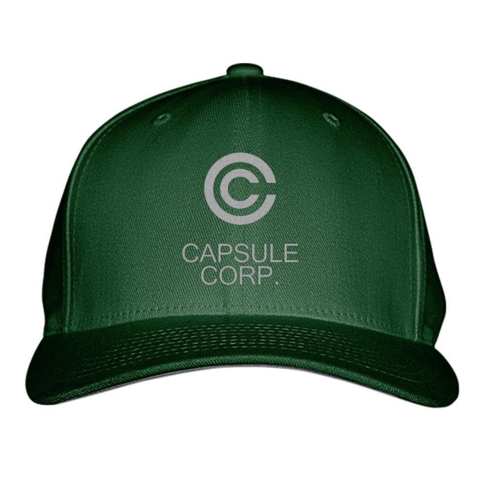 Capsule Corp Dragon Ball Embroidered Baseball Cap