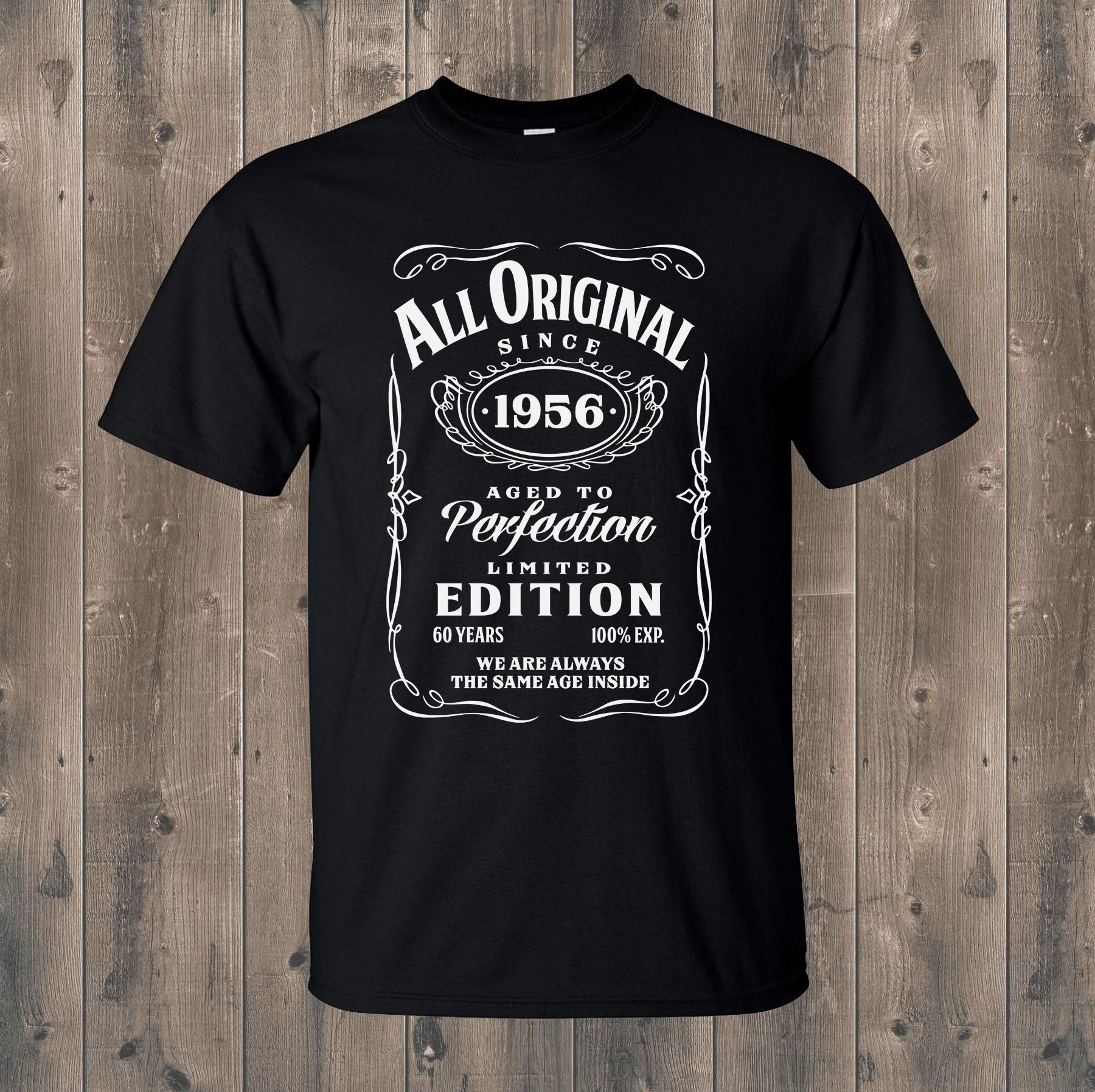 Having a special birthday? A vintage 60 or a fabulous 50? Whether you are buying this shirt as a gift for somebody special or wearing it yourself, we can help you personalised these birthday shirts to make yours or someone's birthday fun and special! Shop Now! #birthdaytshirts #personalisedtshirts #funnytshirts