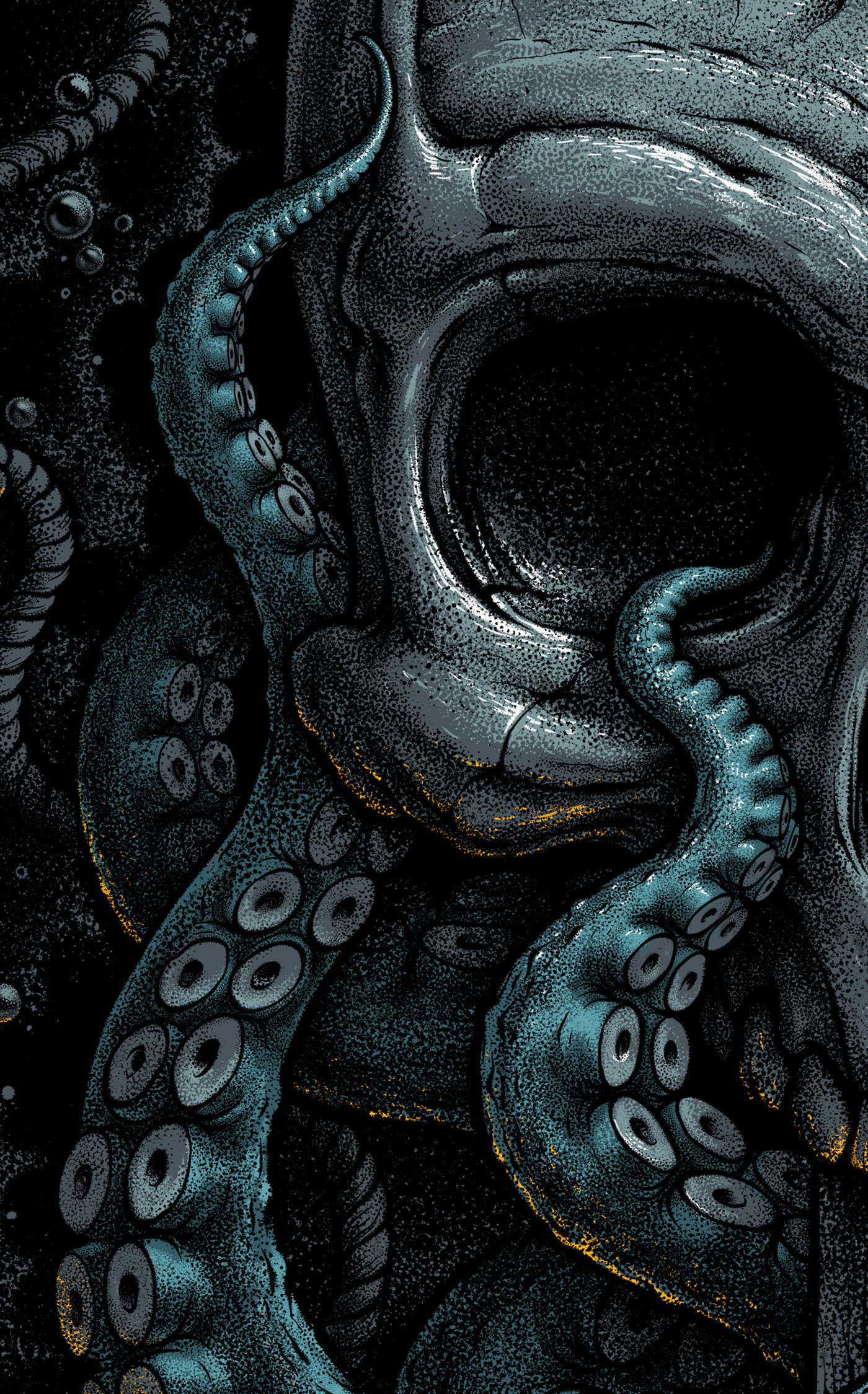 Kraken On Behance Kraken Art Kraken Art Wallpaper Iphone