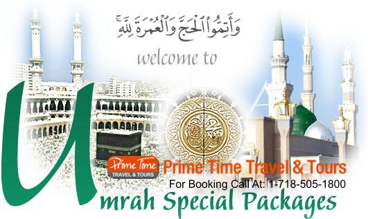 Buy Packages From The Top Travel Agents For Umrah Tours And