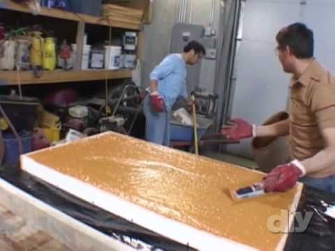 How To Build And Stain Concrete Countertops.