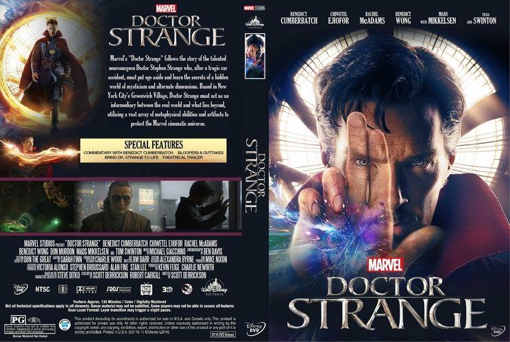 Doctor Strange 2016 Dvd – Galleria di immagini di immagini